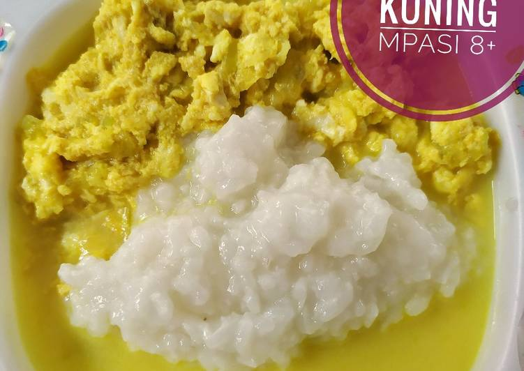 Telur Bumbu Kuning (MPASI 8+)