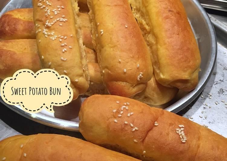 Sweet Potato Hotdog Bun