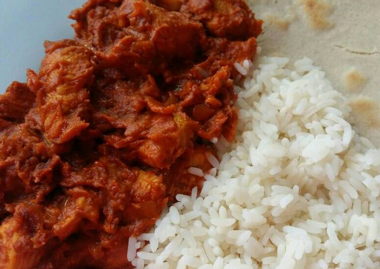 Vickys Easy Butter Chicken, GF DF EF SF NF