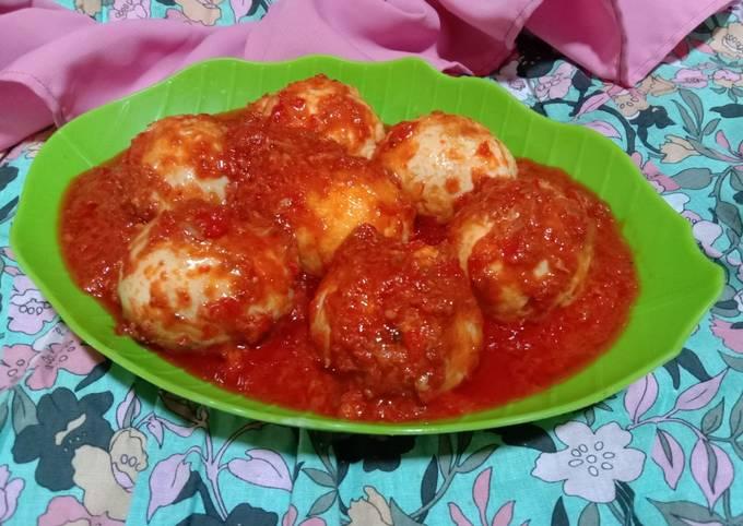 Bahan-bahan Telur Balado Yang Nikmat dan Mudah Dibuat