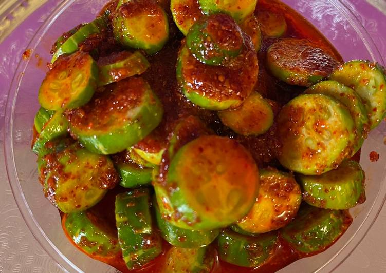 Fresh Ivy gourd pickle Taja Tindoranu athanu