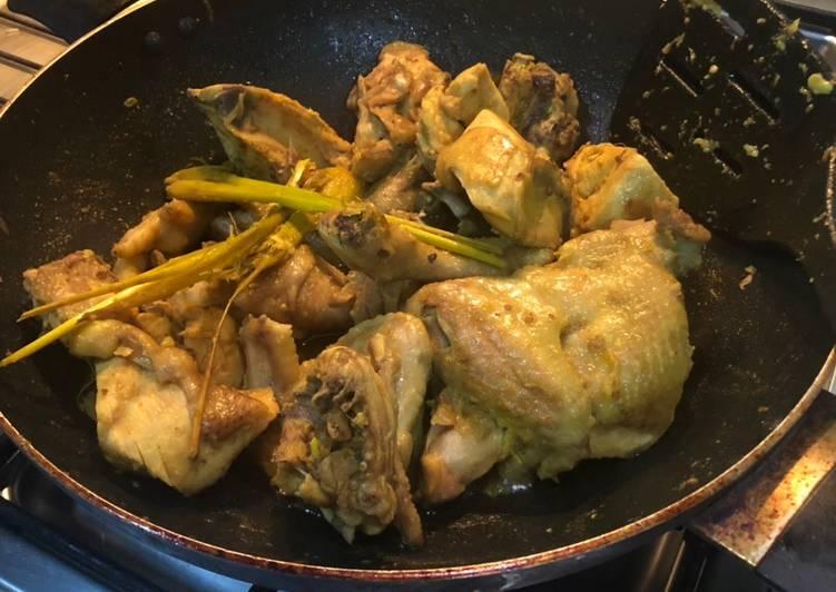 Ayam Ungkep Rumahan