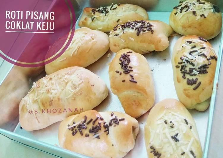 Roti Pisang Coklat Keju Irit