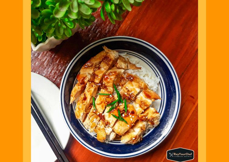 Recipe: Yummy Chicken teriyaki