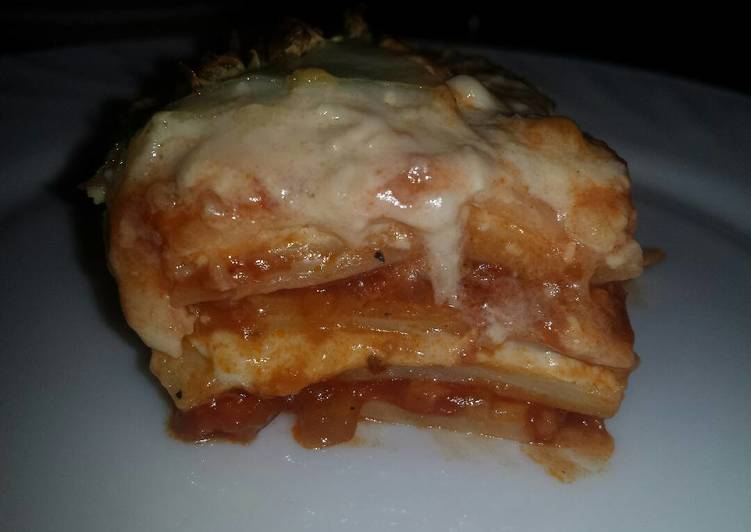 Easiest Way to Make Appetizing Lasagna