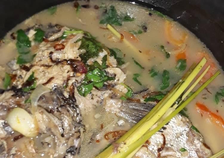 Sup/sop Ikan laut