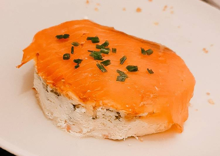 Cheesecake de saumon fumé