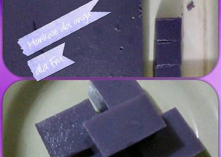 Hunkwe ubi ungu