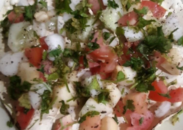 Papad Salad