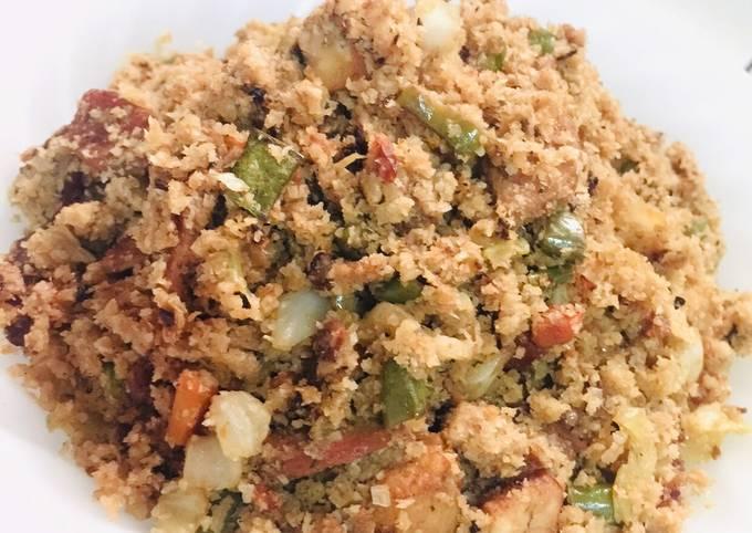 Yang Chow Fried Cauli Rice - Chinese Style Fried Rice using Cauliflower