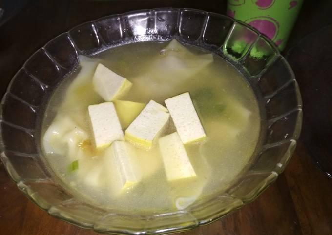 Sop Dumpling Tahu