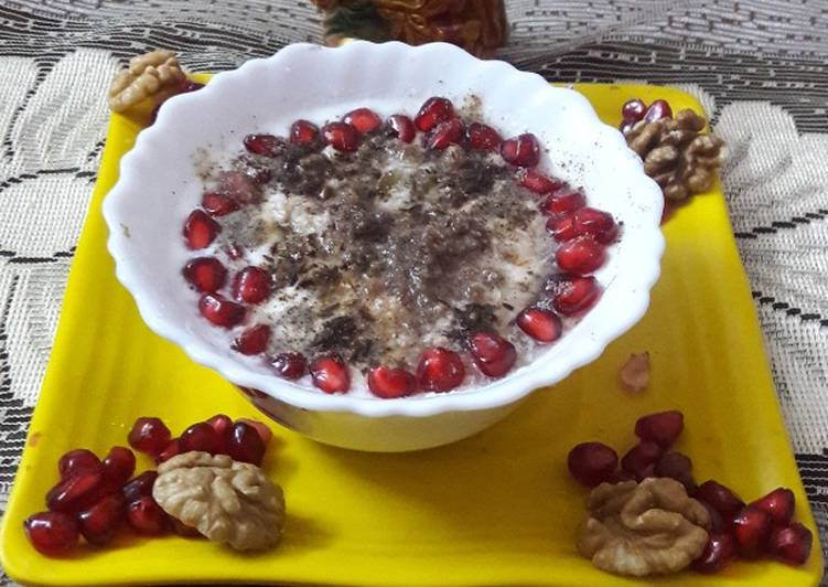 Dry fruits raita