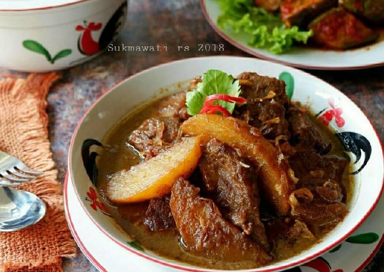 Semur Malbi Khas Palembang
