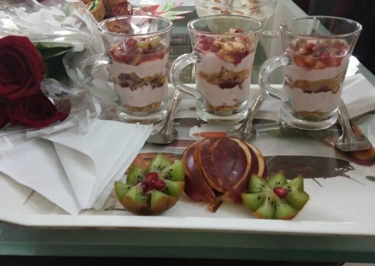 Recipe of Perfect Fruit Yogurt Parfait