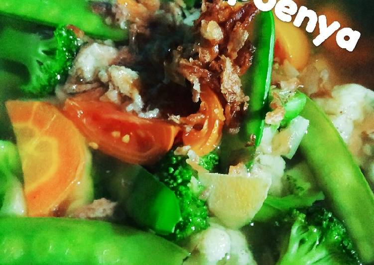 Sayur sop brokoli