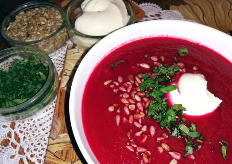 Step-by-Step Guide to Make Top-Rated Beetroot soup