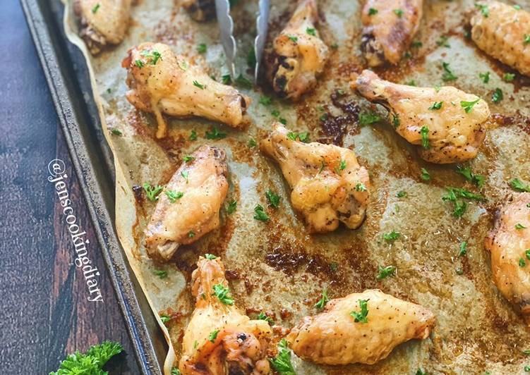How to Cook Appetizing Salt and Pepper Baked Chicken Wings