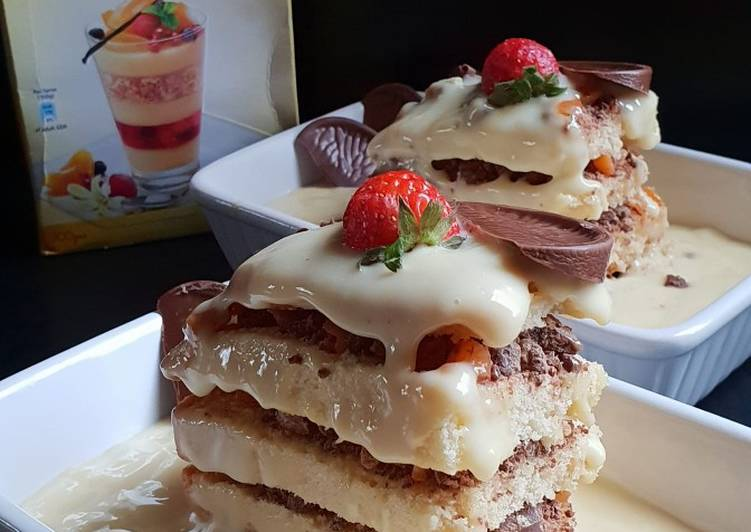 30 Minute Steps to Prepare Fall Chocolate crunch layer cake