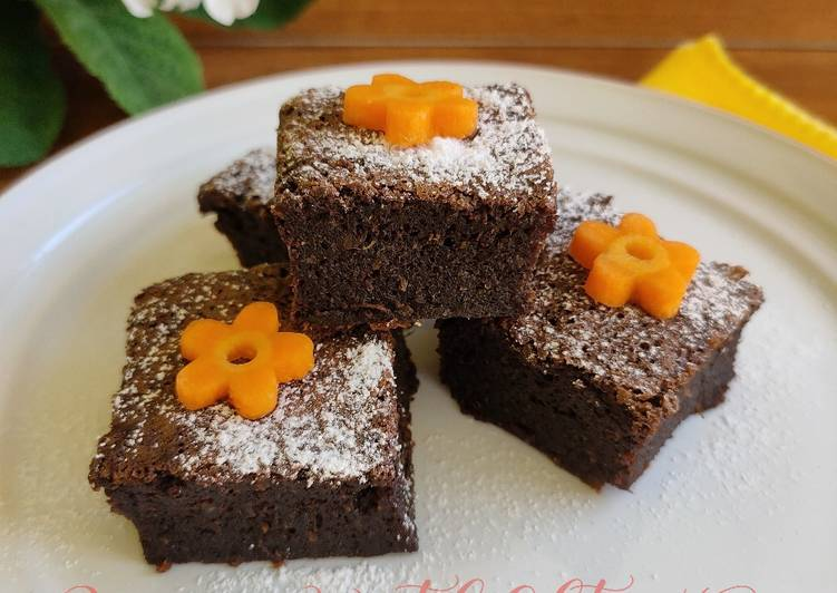 Brownies Wortel (Gluten Free)