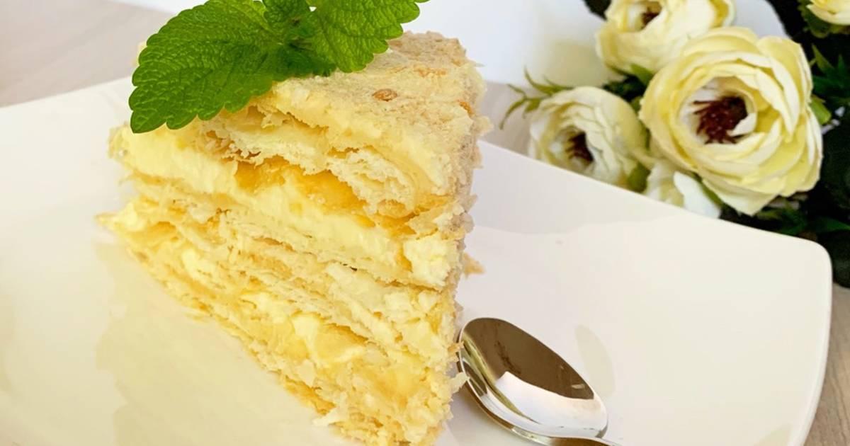 прошедшим днём торт наполеон нежный пошаговый рецепт с фото общением