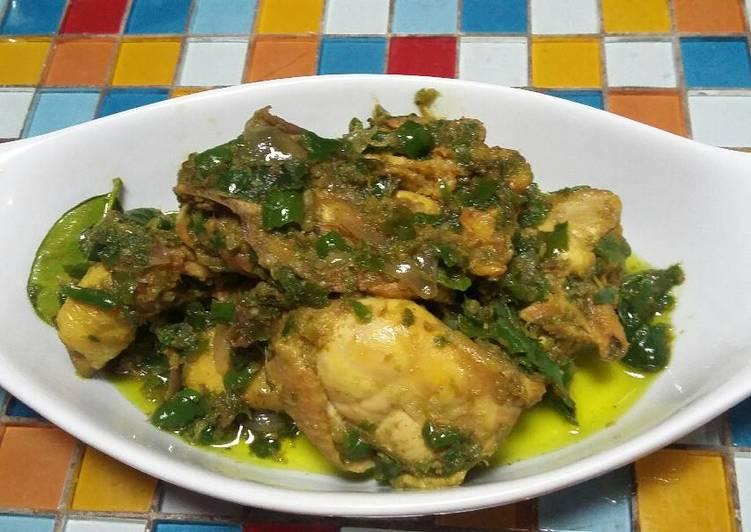 Ayam sambal hijau