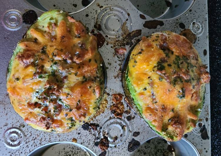 My loaded baked🥑 Avocados & 🥚eggs