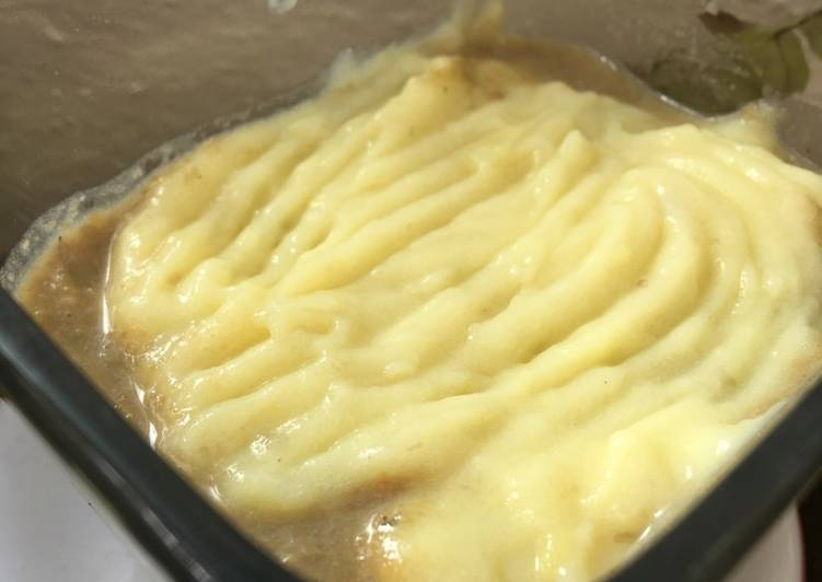 Vegan Cottage pie for babies
