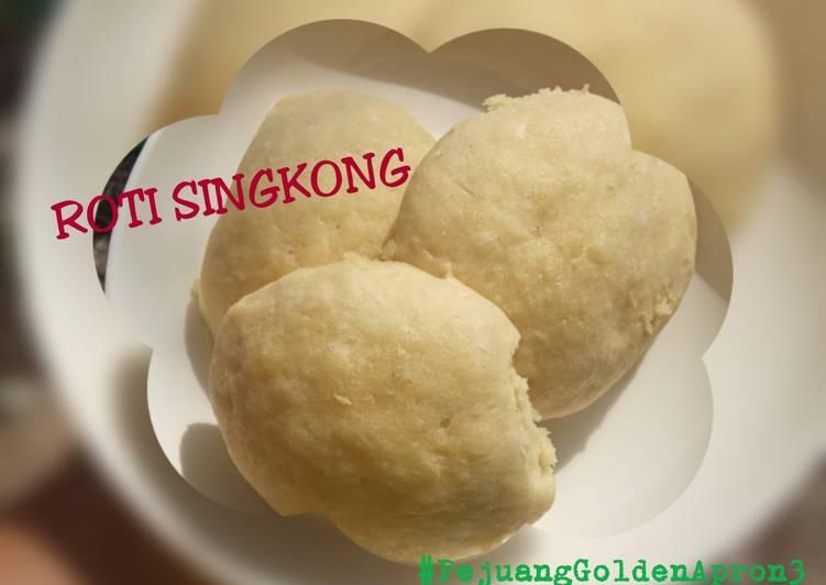 Resep ROTI SINGKONG (PAKAI REBREAD) Paling dicari