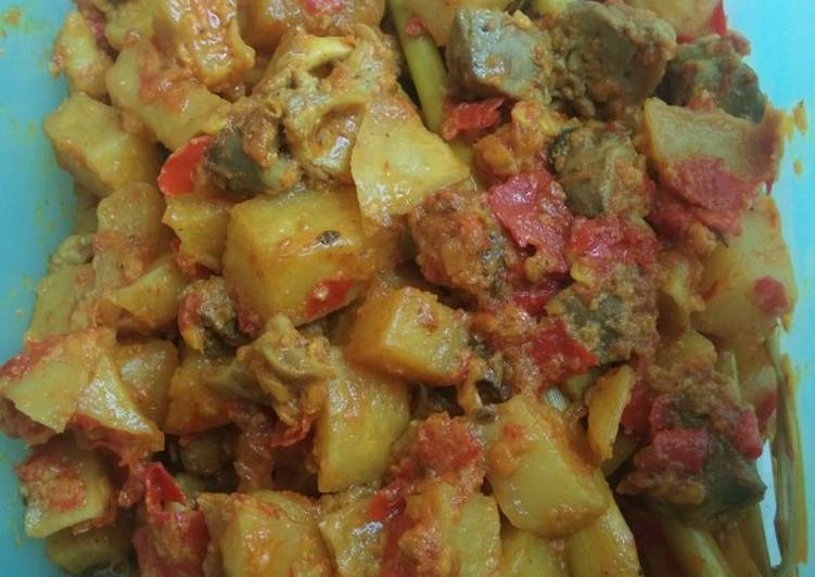 Cara Memasak Sambel goreng ati ampela kentang, Sempurna