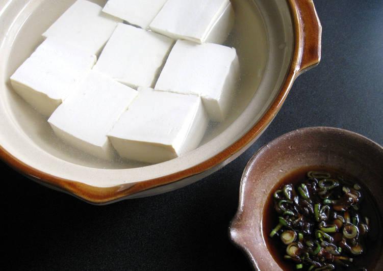 Recipe: Perfect Hot Tofu (Yudōfu)