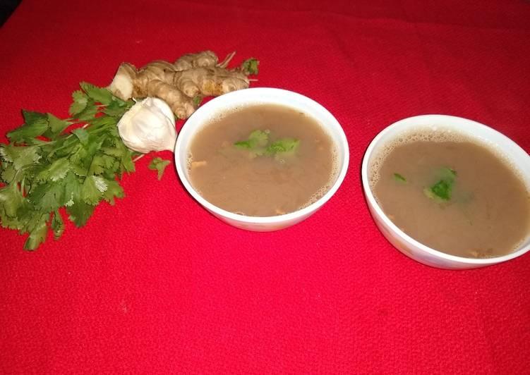 Black gram soup