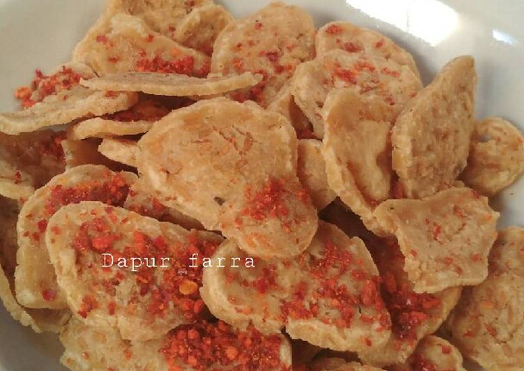 Resep Basreng Bakso Goreng Renyah Oleh Ega Tri Rimawati Cookpad