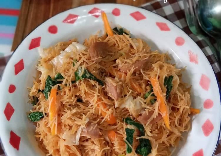 Bihun Goreng ala Ibu Penjual Nasi Uduk