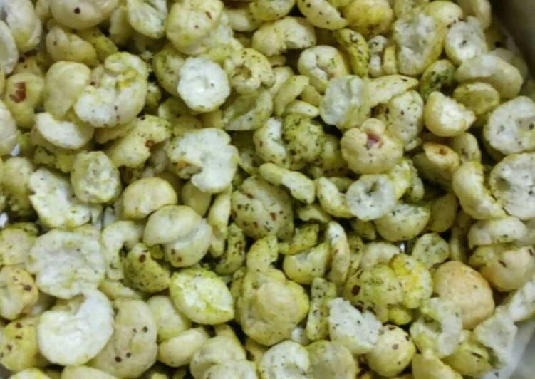 Simple Way to Prepare Award-winning Curry leaf roast makhana