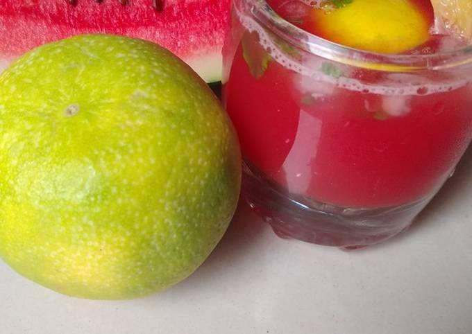 Watermelon Sweetlime mojito
