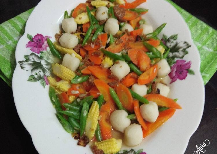 CapCay Sayuran Bakso Ikan