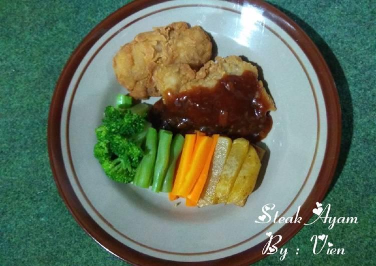 Steak Ayam