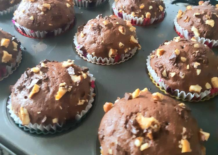Top 9 Meilleures Recettes de Muffins au chocolat