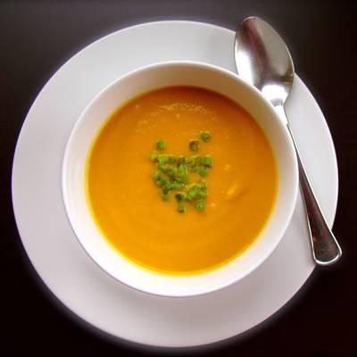 Sopa de jengibre calorias