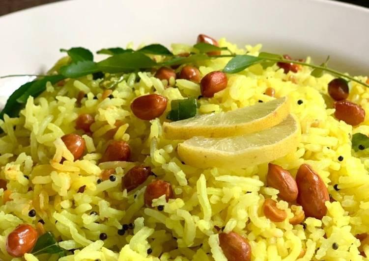 Easiest Way to Make Homemade Lemon Rice