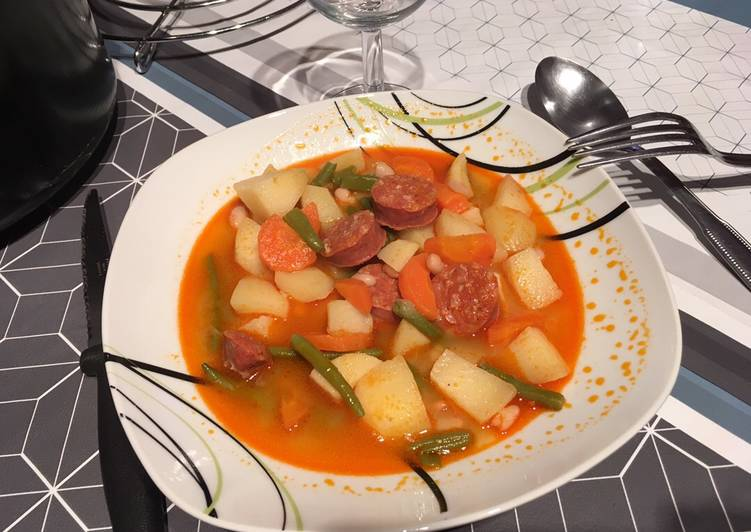 How to Cook Tasty Soupe portugaise rapide
