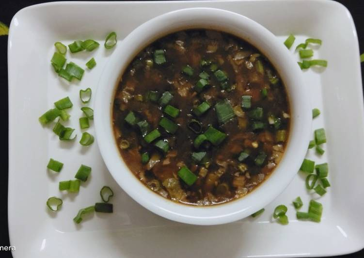 Hot and Sour Soup 🍵