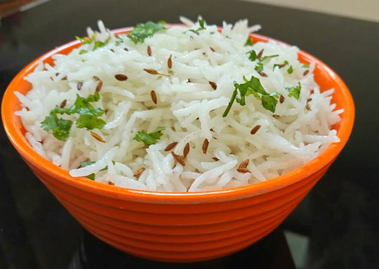 Recipe: Perfect Jeera Rice