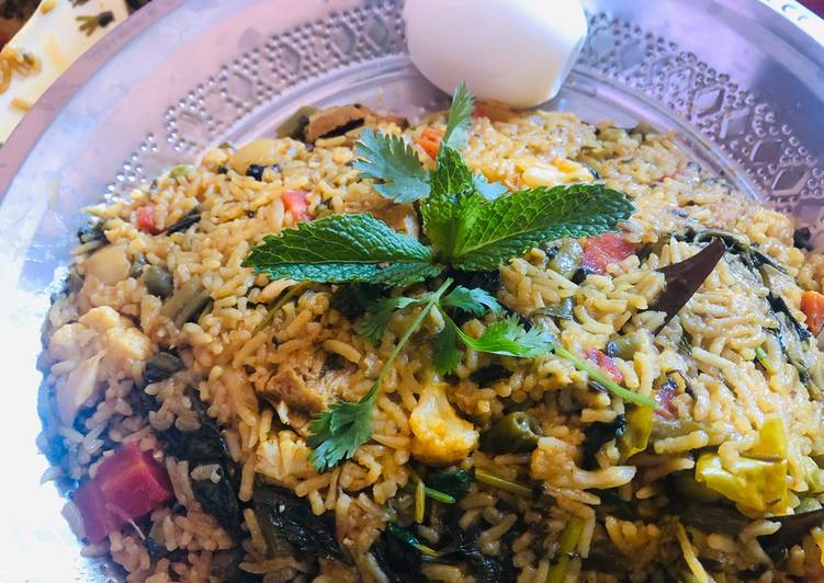 Step-by-Step Guide to Make Super Quick Homemade Veg biryani in electric rice cooker