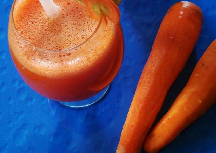 Recipe of Quick Carrot and lime juice