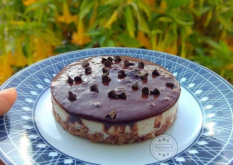 Ricetta Cheescake light al cioccolato
