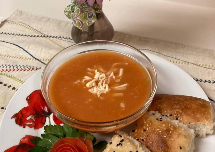 Tomato Cream Soup/Sup Krim Tomat ala Turki (Ibu Mertua)/Domatesli Corbasi, Deciding on Healthy Fast Food