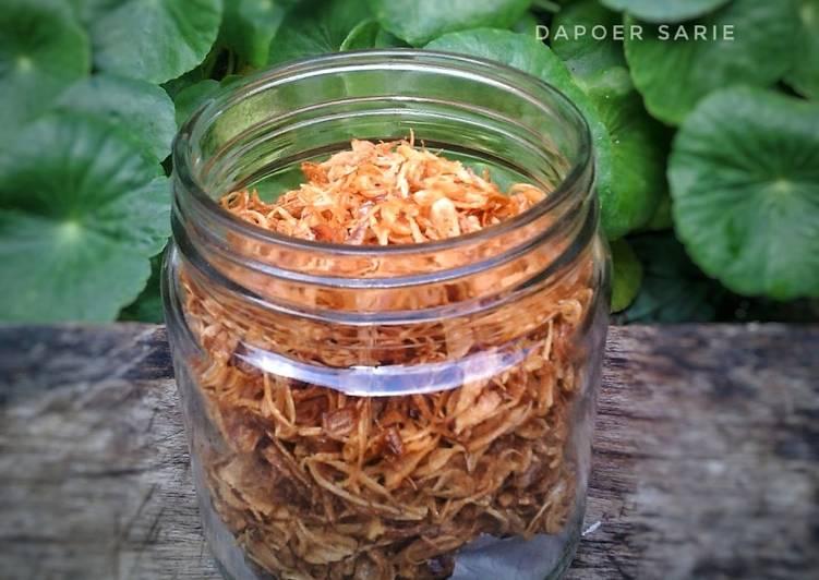 Bawang Goreng Renyah + Tips