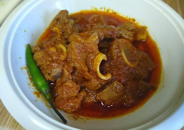Recipe of Homemade Mutton semi gravy