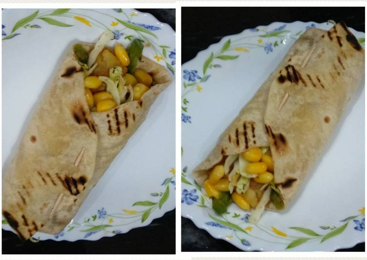 How to Make Ultimate Fusion vegetable wraps